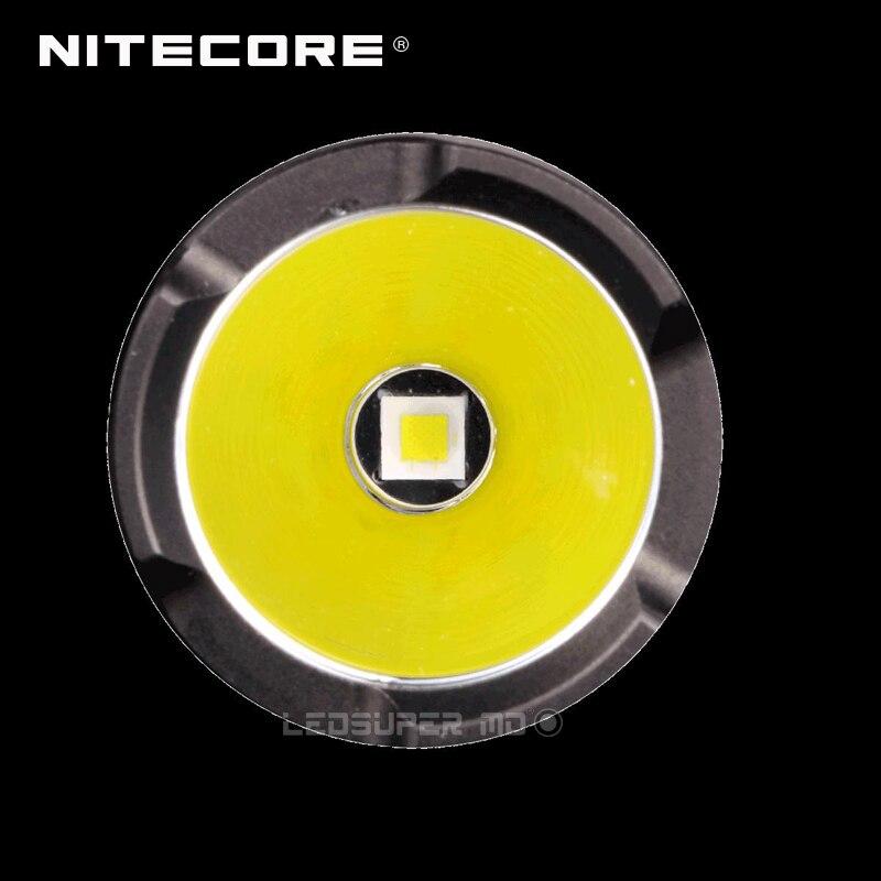 Image 4 - Fabryka cena NITECORE P10GT CREE XP L HI V3 LED 900 lumenów lekka i przenośna latarka policyjna z obsługą jedną rękąpolice flashlightcree xp-lcree xp-l hi -