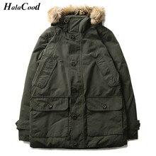 Hot Sell New Male Stylish Fashion Quality Parkas Winter Jacket Coats Men Causal Hooded Jacket Man Windbreaker Coats Army Outwear
