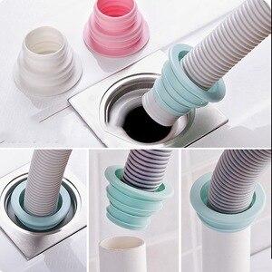 Urijk 1PC Sewer Pipe Deodorization Ring Washer Deodorant Drain Seal Ring Sealing Plug Telescopic Tank Sewer Pest Control(China)
