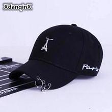 Женская кепка xdanqinx хлопковая бейсболка с хвостом для взрослых