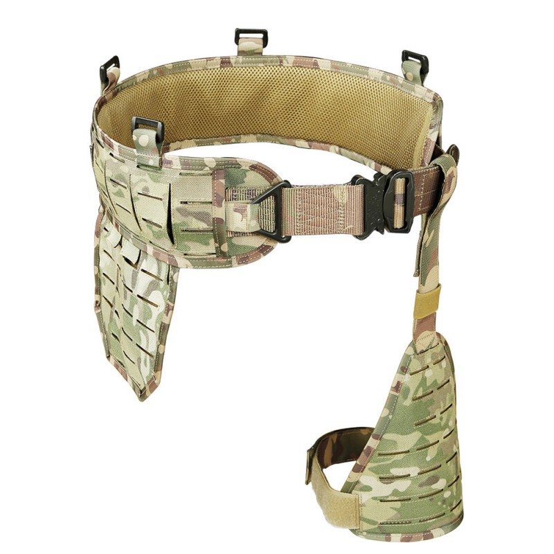 Tactical Molle Belt Multifunction Equipment Field Girdle Military Fan Waistband Corset Army Special Convenient Combat