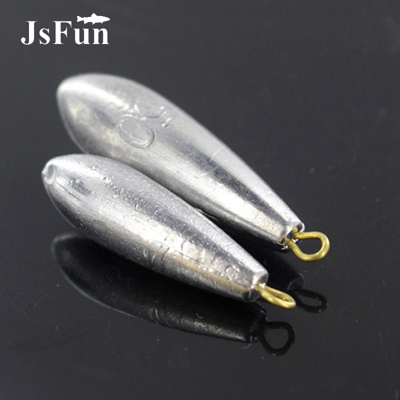 1PCS Lead Weights Water Drop Shape Fishing Sinkers 9 Sizes Fishing Tool Ocean Boat Fishing Lure Accessories PJ86