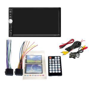 "Image 2 - 2 din car radio coche recorder Bluetooth 2din 12v Player 7"" HD Touch Screen MP3 MP5 auto Audio Stereo TF USB FM Autoradio 7012b"