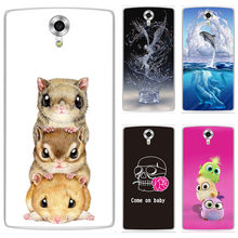 "Soft Silicone TPU Case For HomTom HT7 HT 7 Pro 5.5"" Case Cover HD Print Patterned Cover Phone Back Shell(China)"