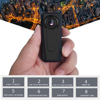 F1 HD 1080p Mini DV Camcorder 140 DegreeWide Angle Motion Detecting Camera Security Guard Recorder Cameras