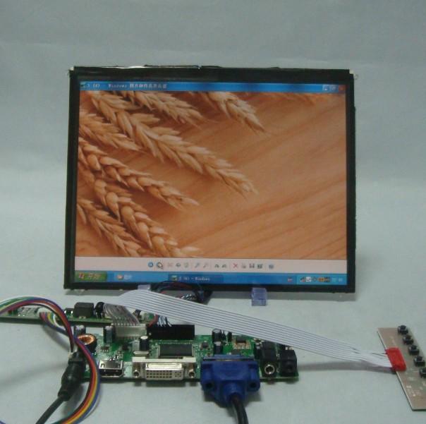 HDMI/DVI/VGA LCD Driver board + 9.7inch 1024*768 LP097X02 IPS Lcd Panel