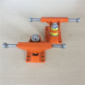Image 4 - FISHBOARD Parts 3.25 inch peny board Trucks made by Aluminum with many color and good quality Trucks De Skate