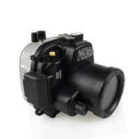 130ft/40m Waterproof Underwater Housing Camera Diving Case for Canon 600D T3i Camera Bag Case Cover