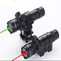 YH102 532nm Powerful Tactical Green Red Dot Laser Sight Riflescope Gunsight Rifle Scope For Hunting Shotgun