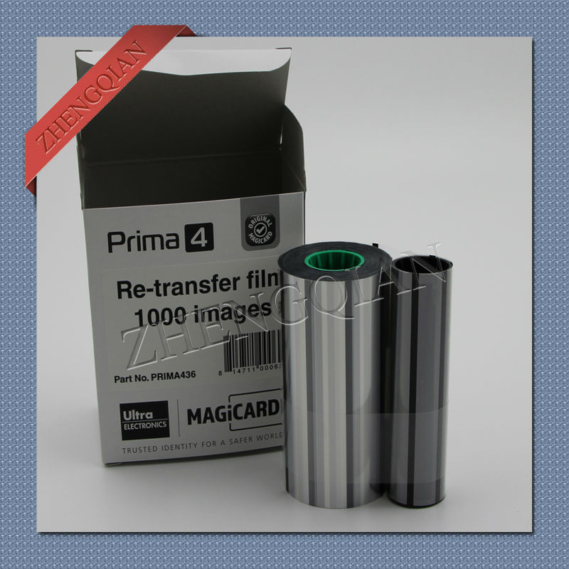 Original Magicard Prima436 transfer film work on Prima4 printer