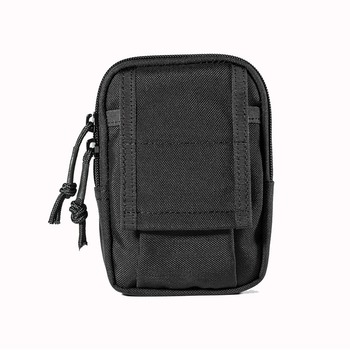 "OneTigris hombre's Outdoor Sports Waist Packs bolsa para correr MOLLE Tactical Mini EDC Utility Pouch se adapta a 5,5 ""iPhone Smartphone"