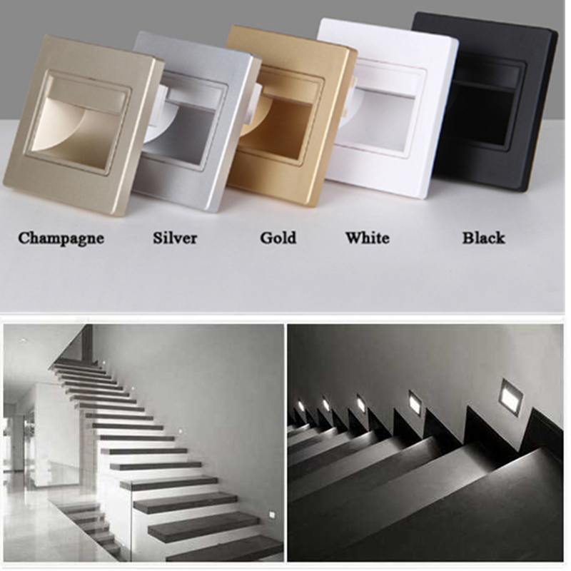 Recessed Led Stair Light 85 265v 1 5w