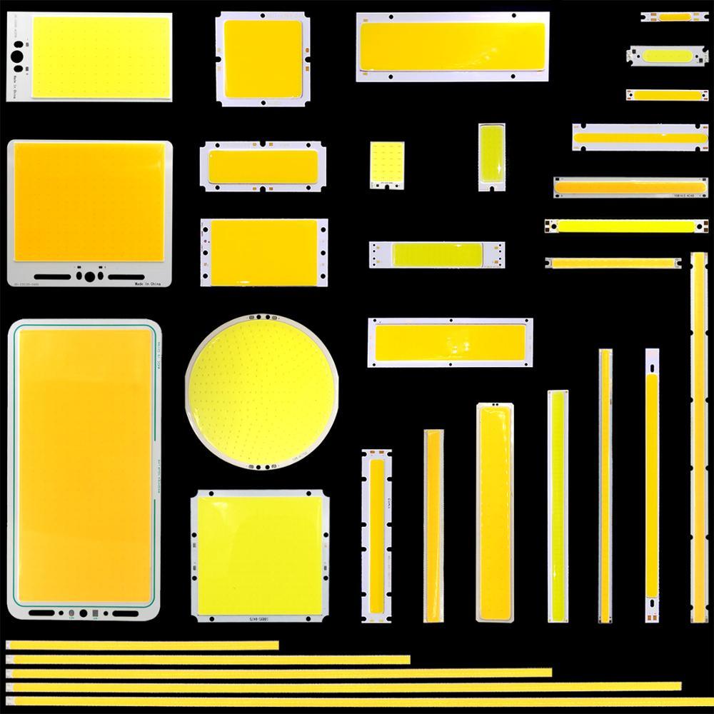 2W-200W Mix COB LED Light Strip DC Chip On Board 3V 9V 30V 12V LED COB Lamp For DIY Indoor Outdoor Decorative Lighting Bulbs