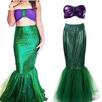 Sexy vrouwen mermaid uniform kostuum halloween cosplay fancy dress