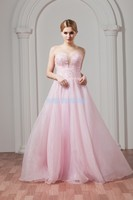 free shipping vestido de noiva 2018 formal robe de mariee sexy beading custom special occasion pink Prom gown Bridesmaid Dresses