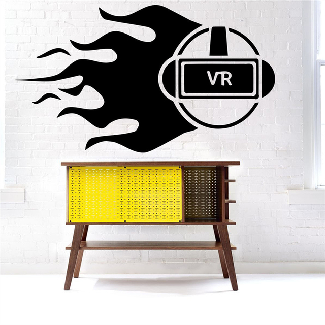 Glasses Wall Decal Vinyl Sticker Decor Mural Game Virtual Reality