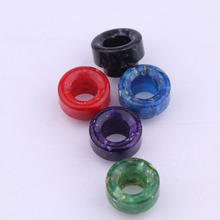 XFKM Newest Epoxy Resin 810 drip tips mouthpiece for model TFV8 TFV12 Kennedy Atomizer 528 810 thread vaporizer 528-H