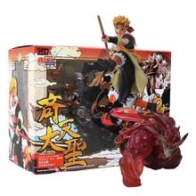 18 Cm GEM Naruto Uzumaki Karena Son Goku Raja Monyet Patung PVC Action Figure Model Koleksi Mainan Boneka hadiah