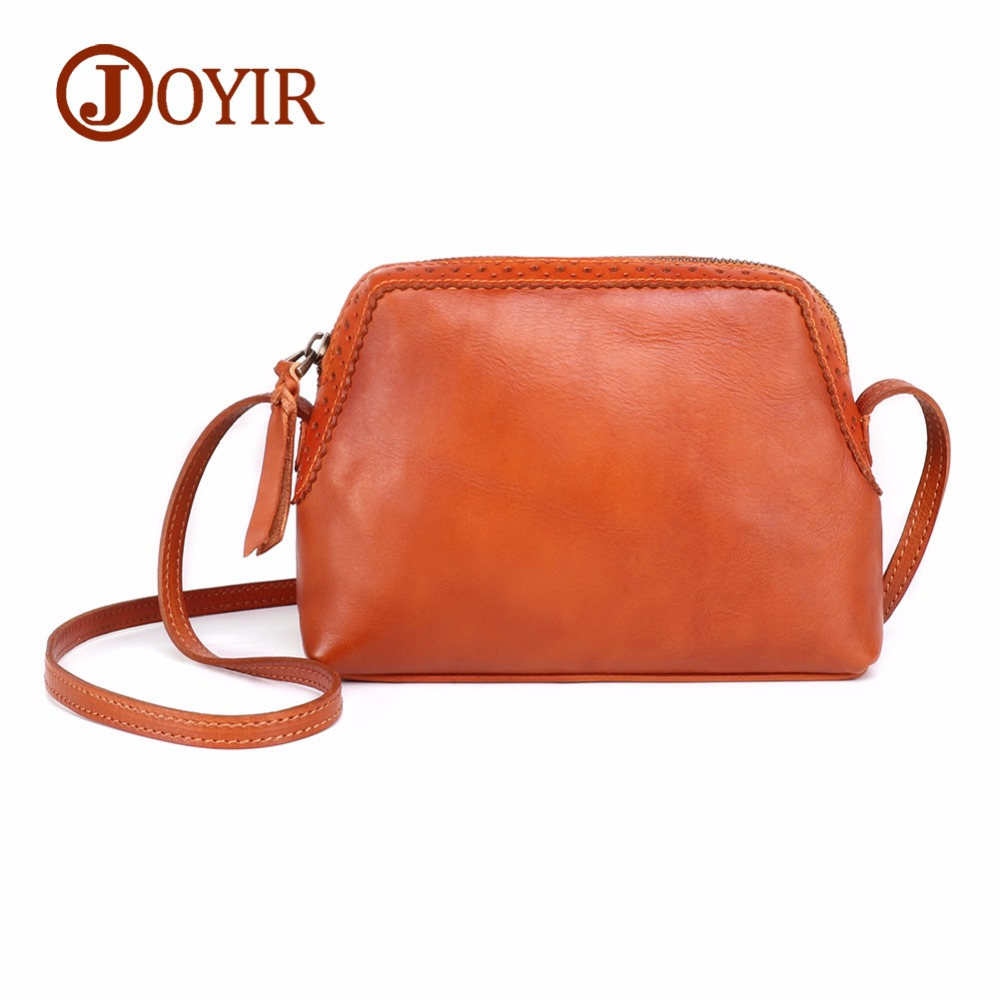 JOYIR Vintage Genuine Leather Bag Female Small Women Handbags Bags For Women New Design Luxury Ladies Shoulder Crossbody Bag цена