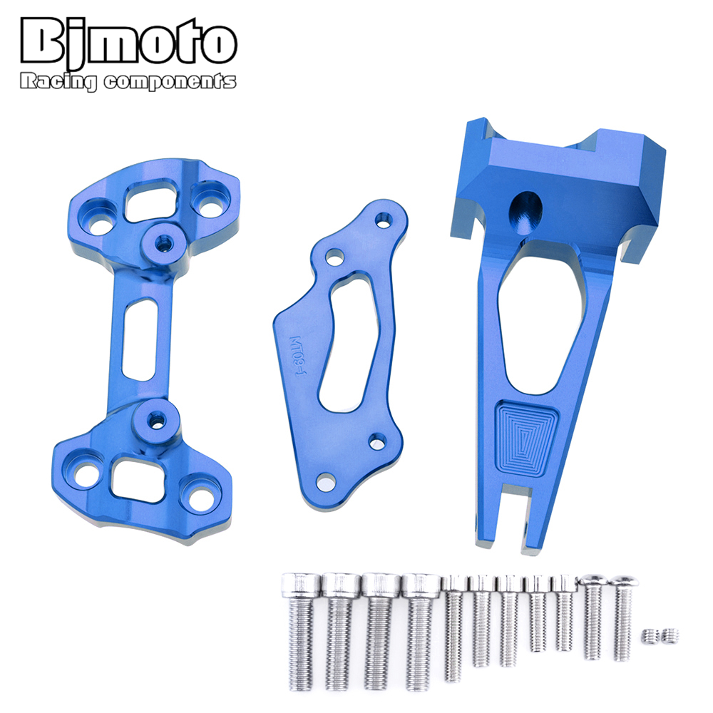 BJMOTO For Yamaha MT09 MT-09 Street Rally FZ-09 2014-2017 Motorcycle CNC Aluminum Steering Damper with Mounting Bracket Kit BJMOTO For Yamaha MT09 MT-09 Street Rally FZ-09 2014-2017 Motorcycle CNC Aluminum Steering Damper with Mounting Bracket Kit