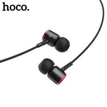 HOCO Écouteurs dans Les Oreilles Universal Sports Casque Filaire Microphone Voyage pour iPhone/Android Ergonomique pour Téléphones 3.5mm Écouteurs