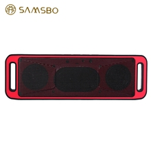 New SAMSBO S160 Multifunctional Wireless Bluetooth Speaker Rectangle Shape Music FM Player with Super Bass Stereo Sound