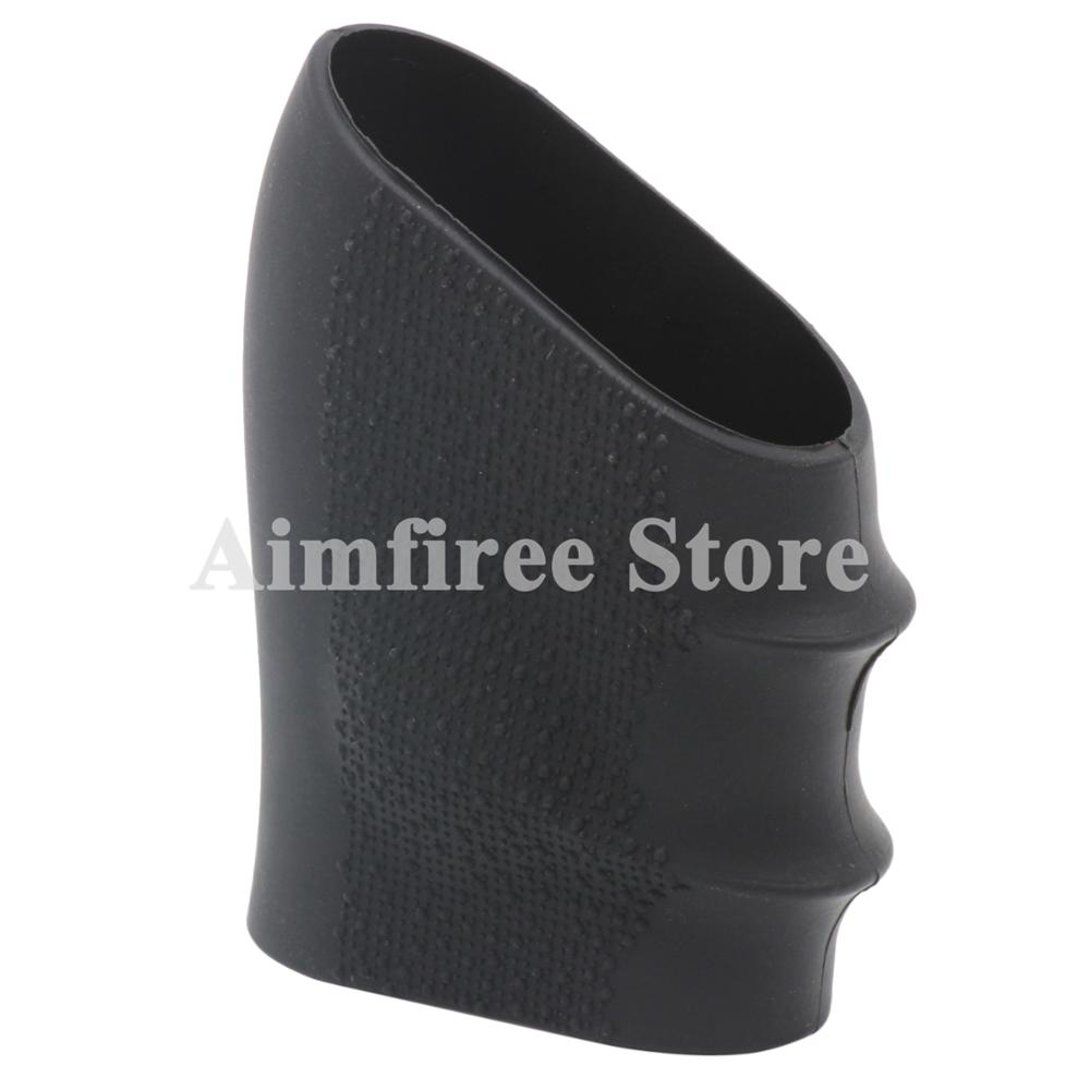 Universal Pistol Grip Sleeve Rubber Handgrip Glove Cover Anti Slip Fits Most Semi-auto Pistol And Glock 17 18 19 20 21 22 23 34