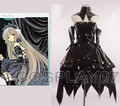 Anime Gothic Lolita Chobits chii (black2) Cosplay Chobits chii Dress Costume Party Dress Action Figure Chobits chii Any Size