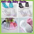 5 par/lote recién nacido del bebé lindo rayados warm bebé exterior Walking niños bebés calcetines calcetín infantil Dropship venta al por mayor