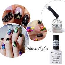 8ml/Bottle Nail Foil Adhesive Glue Star For Foils Transfer Paper UV Gel Polish Manicure Art Tool