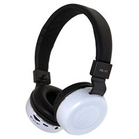 FEINIER FE 17 headset Bluetooth collapsible headset metal texture fashion color bass stereo wireless Bluetooth headset White