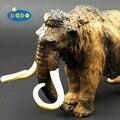 2008 Mamute Papo Modelo Animal de brinquedo de Simulação De animais criaturas Antigas da idade do gelo