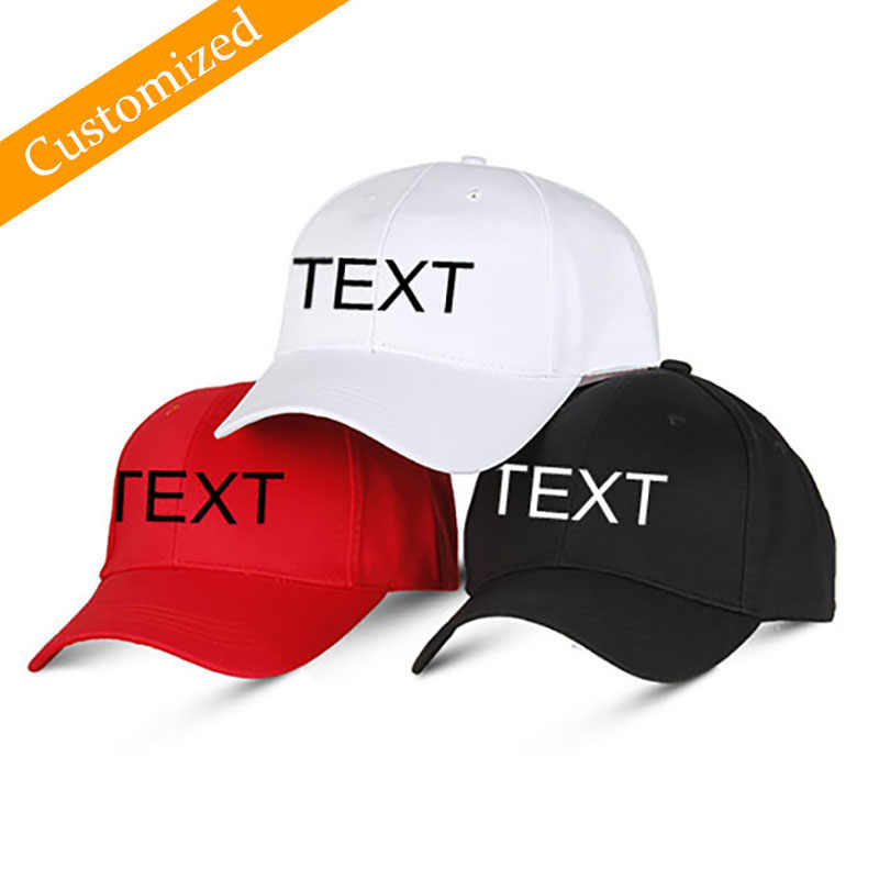 bf06f979 Personalized Baseball Hat Customized Sport Cap Autumn Embroidery Logo  Choose Your Quote Name Design Text Style