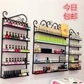 2016New Black 3 PCS/set Cosmetic display rack hanging nail polish shelf