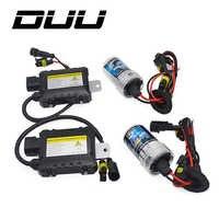 DUU 35W 55W Dünne Drossel kit HID-Xenon-glühbirne 12V H1 H3 H7 H11 9005 9006 4300k 5000k 6000k 8000k Auto Xeno Scheinwerfer Lampe
