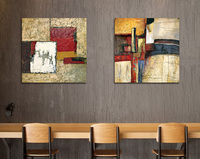 Modern Style Abstract Oil Painting Canvas Painting Home Decor Cafe Idea Wall Pictures For Living Room