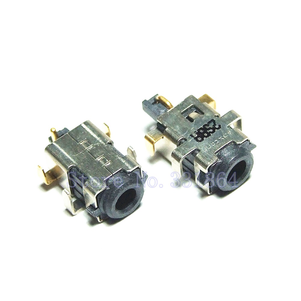 цены на 100PCS DC Power Jack for ASUS Eee PC X101 X101CH  X101H R11CX Laptop Charge Socket Connector в интернет-магазинах