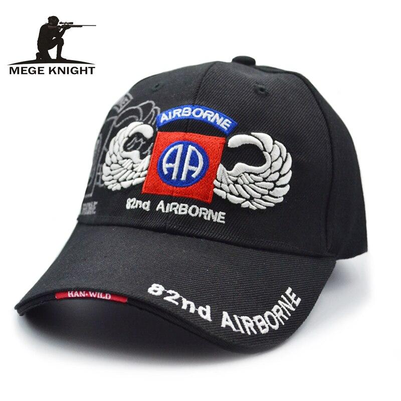 Prix pour Mege Chevalier Marque Vêtements D'été Hommes Tactique US Airforce Design De Mode Broderie Casquette de baseball Marine/Kaki/Noir