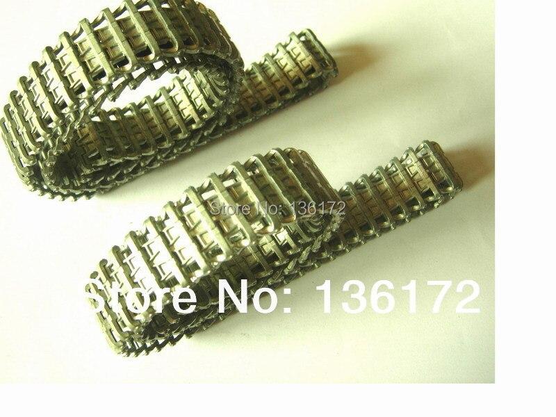 цена на Henglong 1/16 RC tank  3848 3848-1 3849 3849-1 3868   R/C tank parts  metal track 2pcs/set free shipping