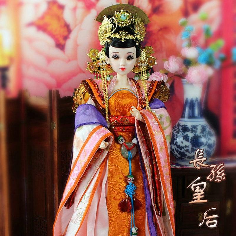 35 CM Bjd Doll Empress Zhangsun Dinastía Tang China Muñeca de - Muñecas y peluches - foto 5