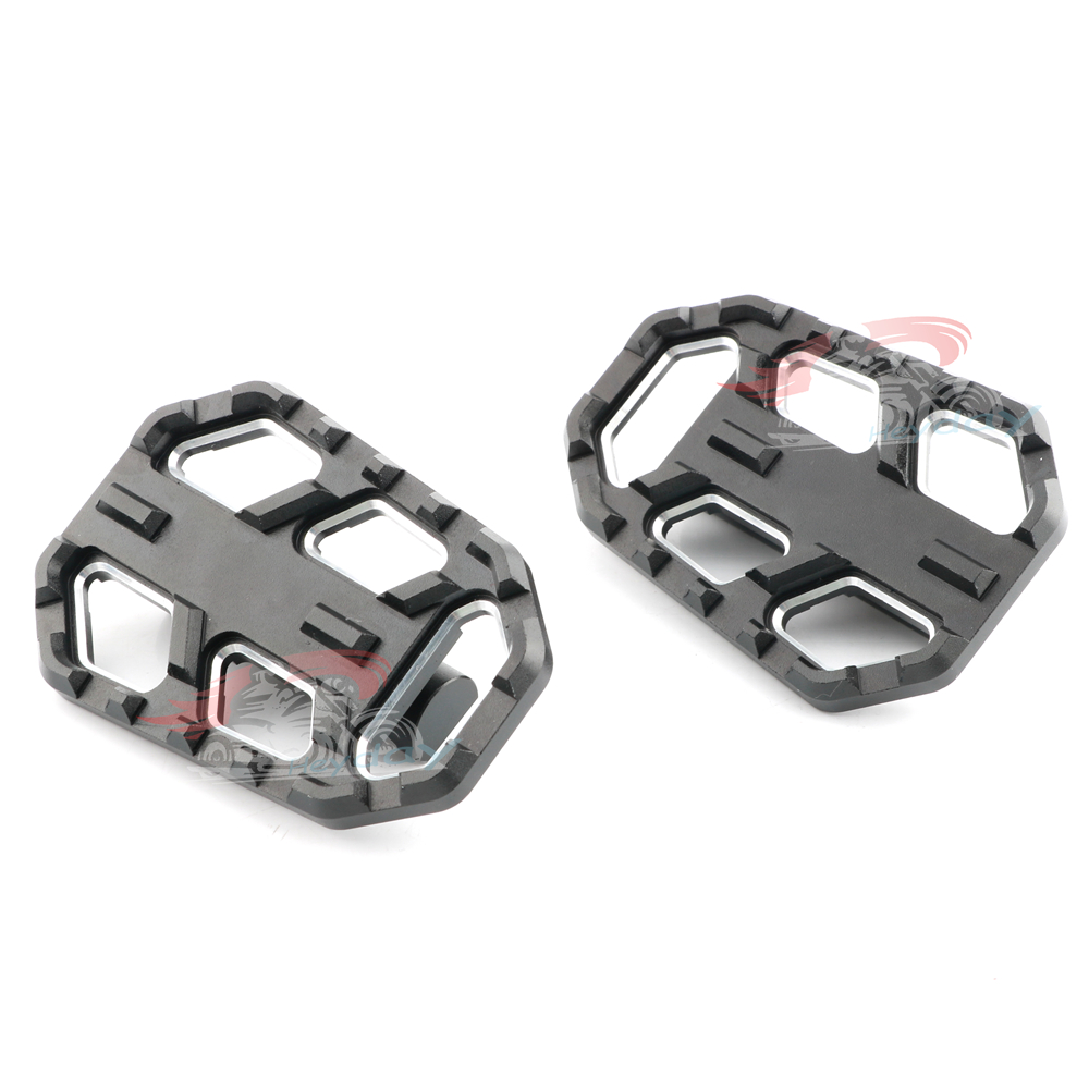 Image 5 - CNC Billet Wide Foot Pegs Pedals Rest Footpegs for BMW F750GS 