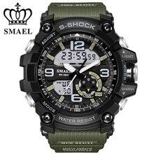 2017 Numérique Montres hommes montres de sport double affichage Nouvelle G style LED Électronique montres à quartz Militaire Étanche Ourdoor montre