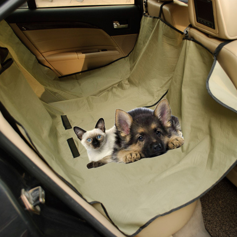 Dog Carriers Waterproof Pet Seat Cover Blanket Hammock Blanket Car Seat Cover Mat For Large Dog Cats Car Seat Protector Safety Pet Travel Mat Selected Material Home & Garden