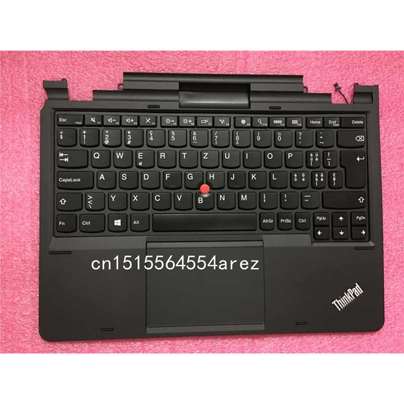 Nouveau clavier d'ordinateur portable Lenovo THINKPAD HELIX TYPE 3XXX Palmrest suisse portugais 04X0648 04X0643