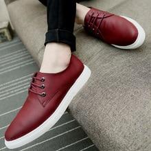 Nice New Fashion Casual Shoes Microfiber Leather Shoes Men Flat Shoes Breathable Slip Mens Dress Shoes Zapatos Hombre 5 Colors
