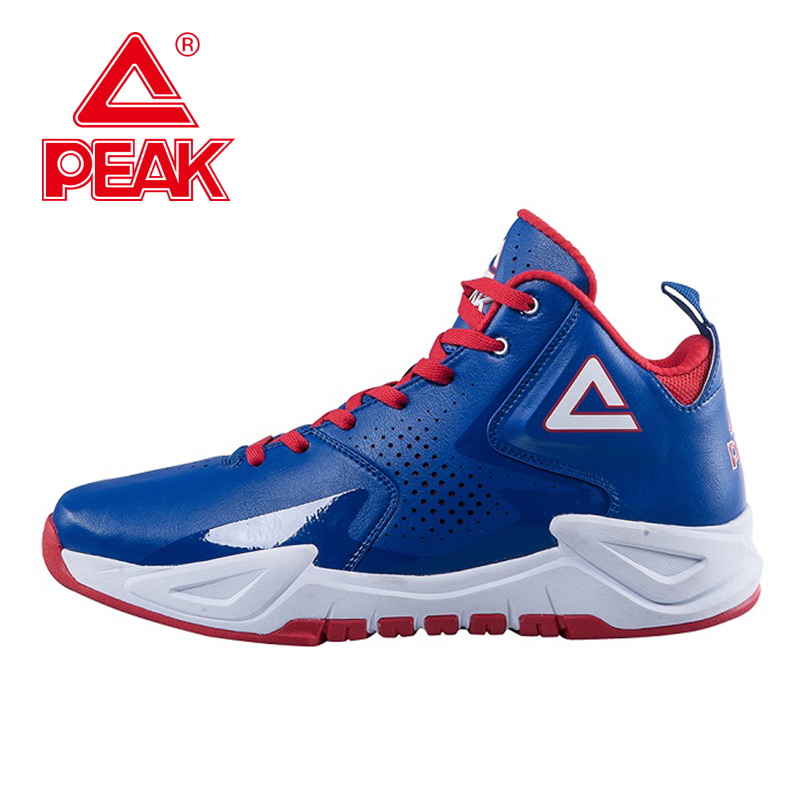 PEAK Ares I Authent New Men Basketball Shoes Durable Rubber Outsole Sneakers Breathable Comfortable High-Top Athletic Ankle Boot peak sport lightning ii men authent basketball shoes competitions athletic boots foothold cushion 3 tech sneakers eur 40 50