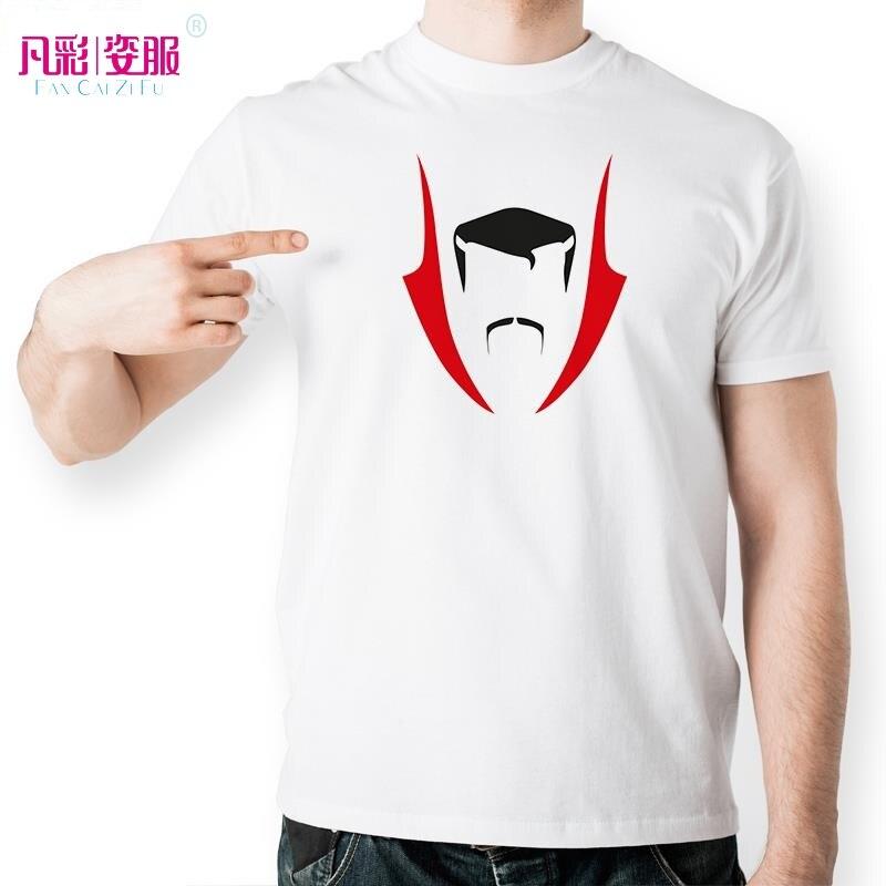 New Strange Doctor Colorful Silhouette T Shirt Design T