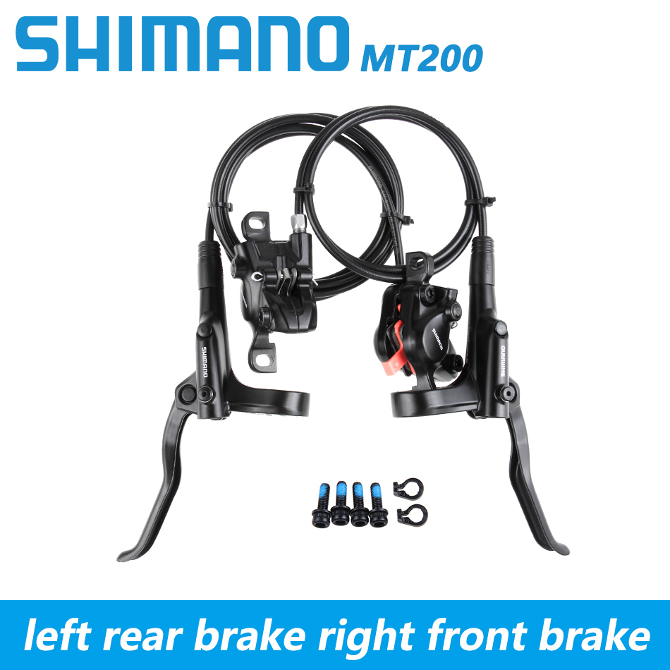 Shimano BR BL MT200 MT315 Bicycle Brake mtb Brake Hydraulic Disc Brake Mountain Clamp Bicycle Brake Upgrade M315-in Bicycle Brake from Sports & Entertainment