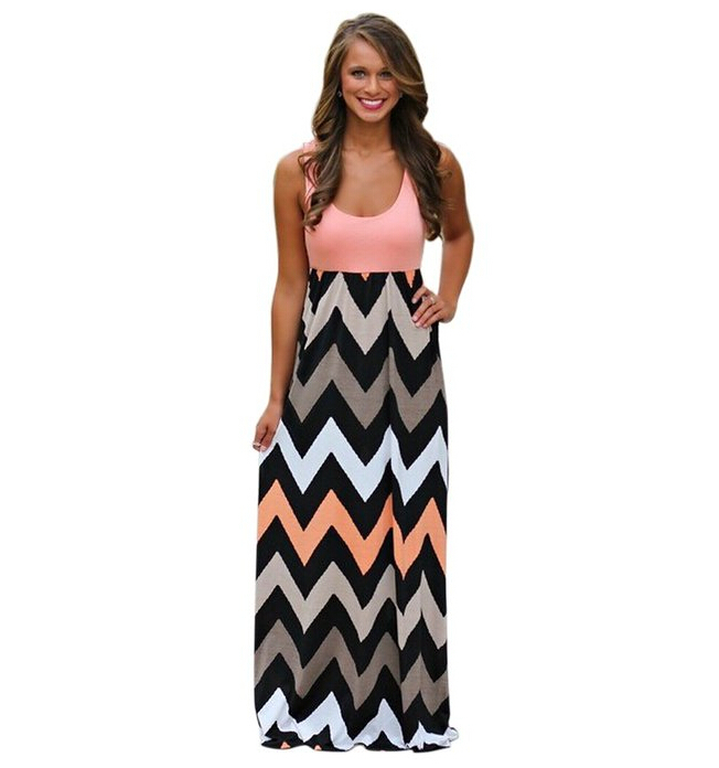 Online Get Cheap Chevron Maxi Dress -Aliexpress.com | Alibaba Group