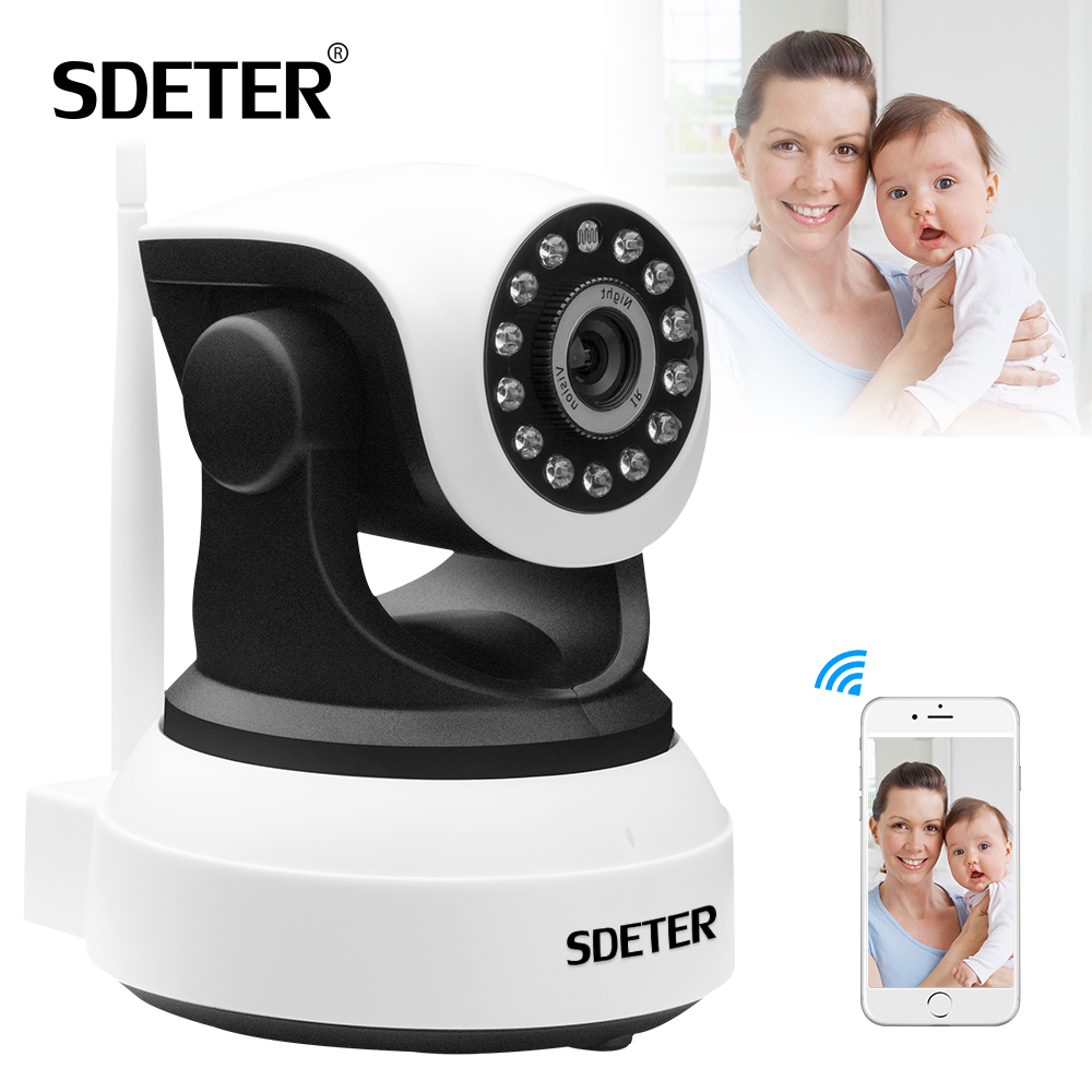 SDETER HD 960P Wireless CCTV Wifi Surveillance Camera Home Security IP Camera IR-CUT Night Vision Onvif P2P Pan Tilt Zoom Camera wanscam wireless ip camera hw0021 3x digital zoom pan tilt pt onvif p2p ir cut night vision security cam with tf card slot